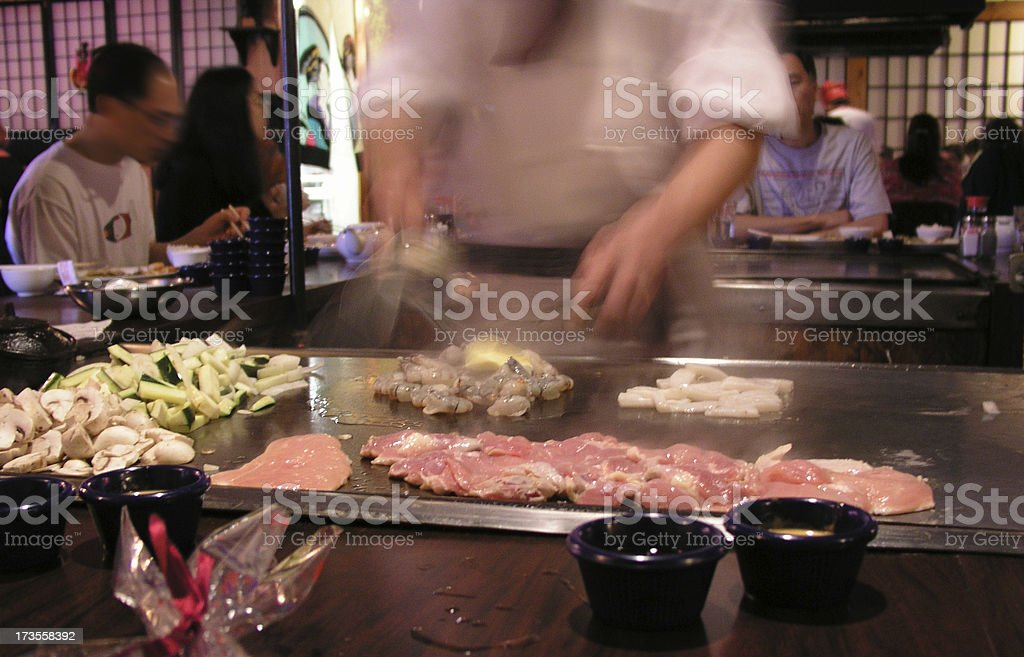 Asian Restaurant royalty-free stock photo