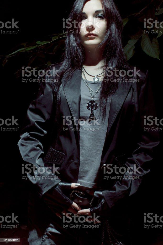 Goth asian girls
