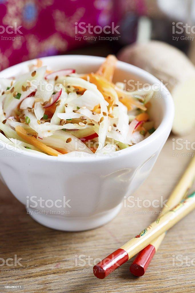 Asian salad royalty-free stock photo