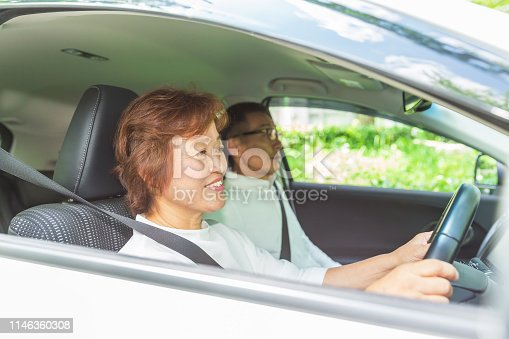 817334706 istock photo asian senior couple 1146360308