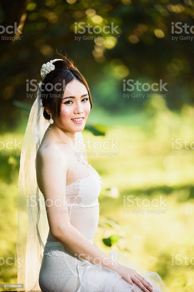 Фото девушек в свадебном сексуальном белье — pic 9