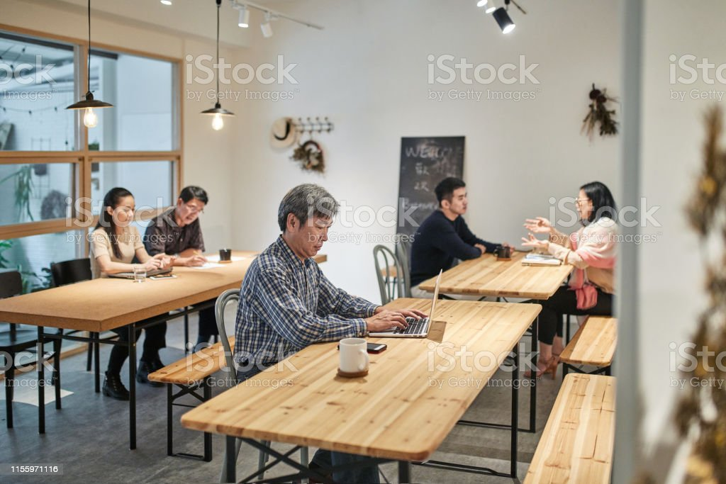 Asian Small Business Owners Sharing Flex Office Space Stock Photo Download Image Now Istock