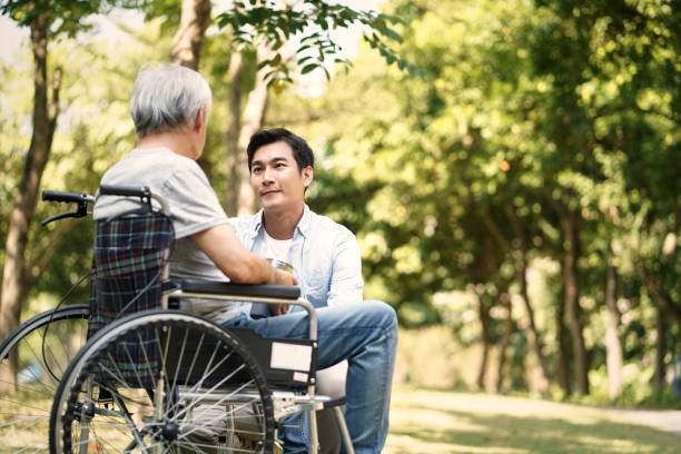 Asian son consoling wheelchair bound father outdoors picture id1192206789?b=1&k=6&m=1192206789&s=612x612&w=0&h=j ksgyz0mdgqzvisd2ko7zyarc2mqpxv4gx9b4pqdrq=