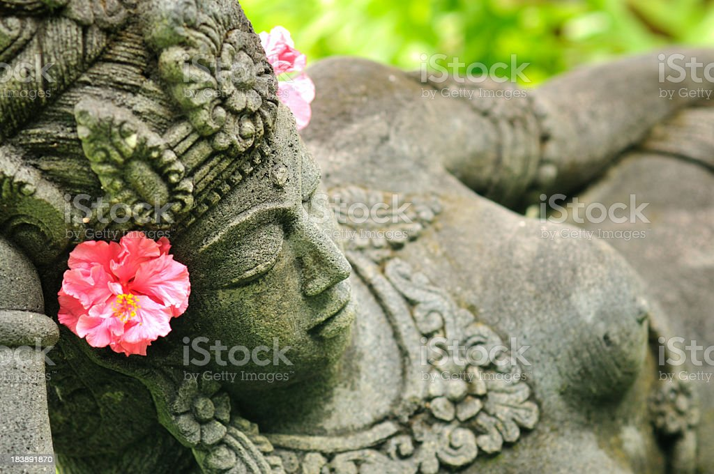 Asian statue stock photo