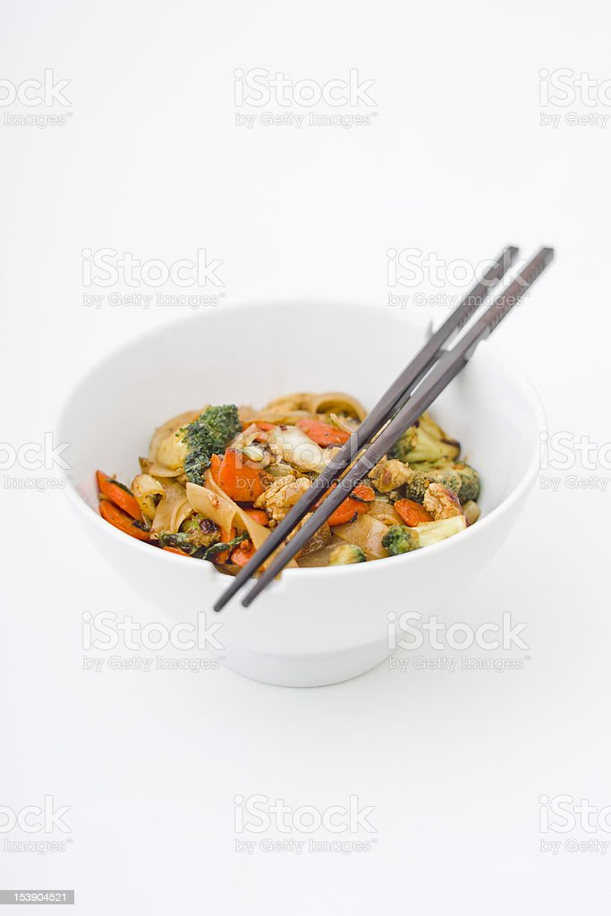 Asian Stir Fry stock photo