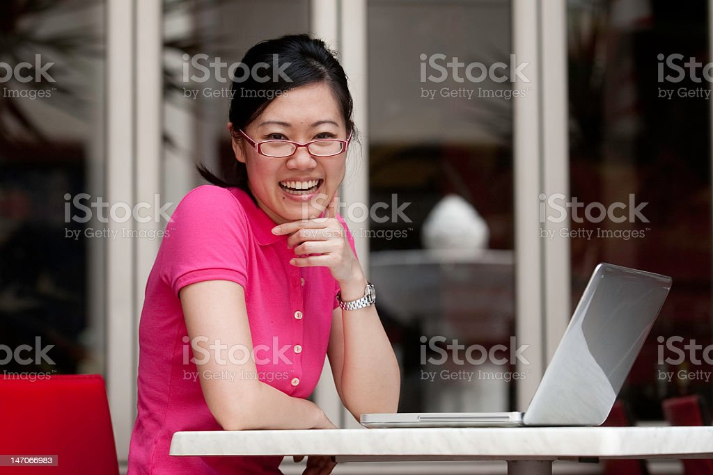 asian student royalty-free stock photo