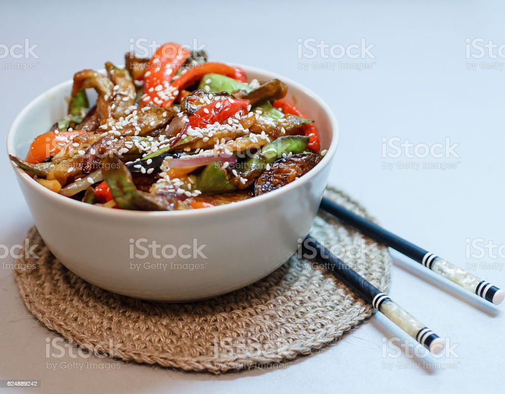 Asian sweet dish stock photo