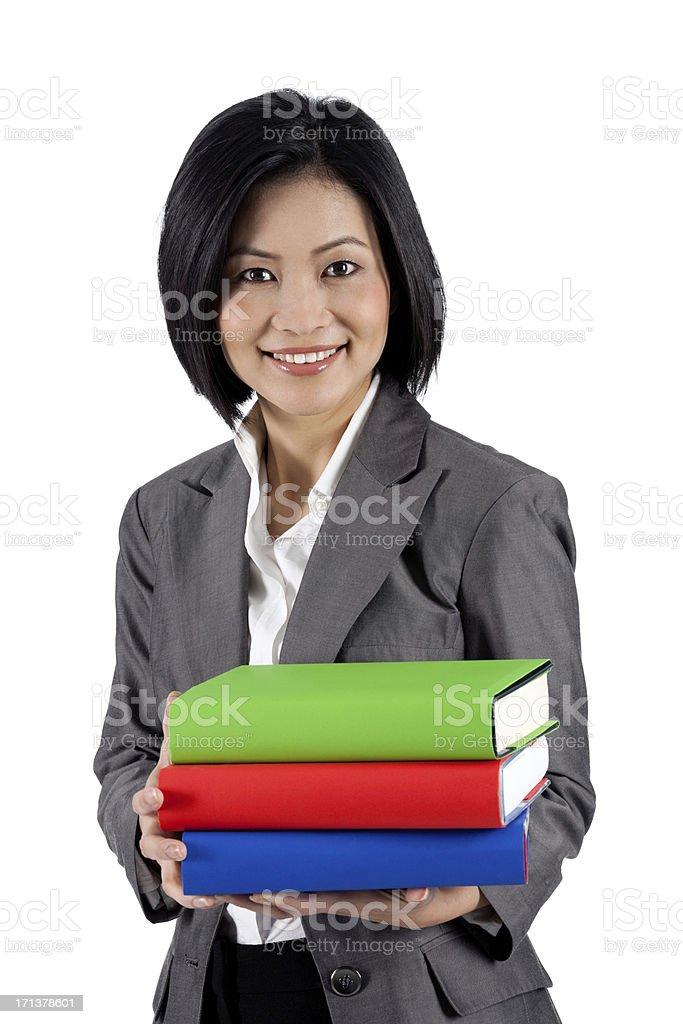 Asian Teacher royalty-free stock photo