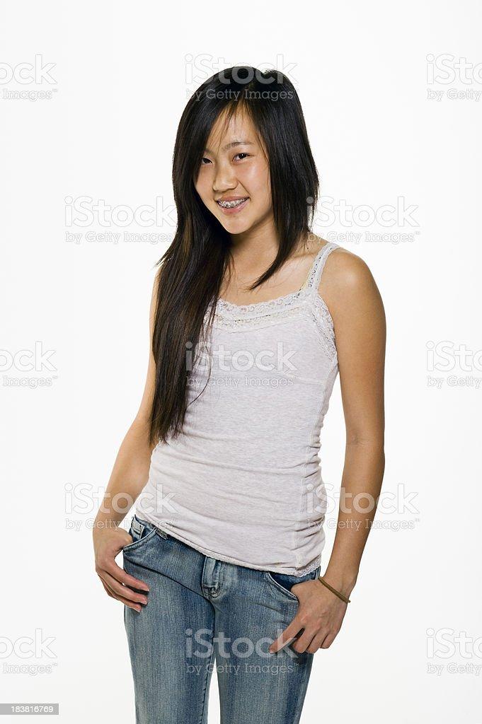 Teens cool asian teens real girl