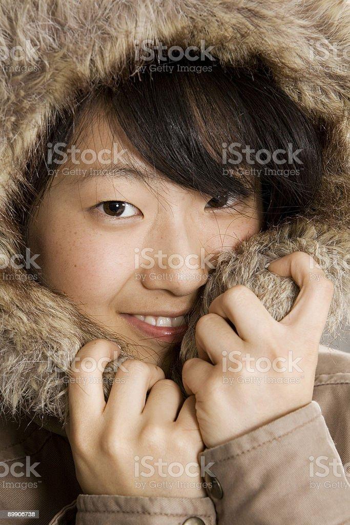 Asian Teenager royalty-free stock photo