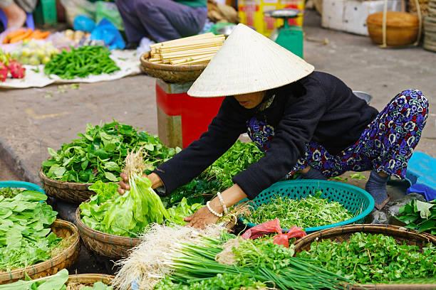 2d49c32950b Royalty Free Local Vietnamese Women Street Vendor In Hoi An Vietnam ...