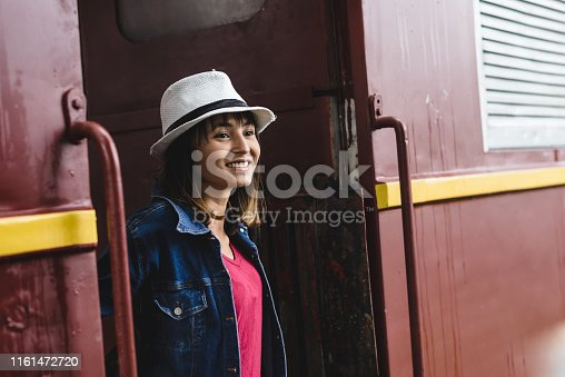 Asian Travelers on Historic Train Ride in Latin America