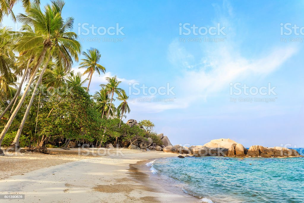 Asian tropical beach paradise – Foto