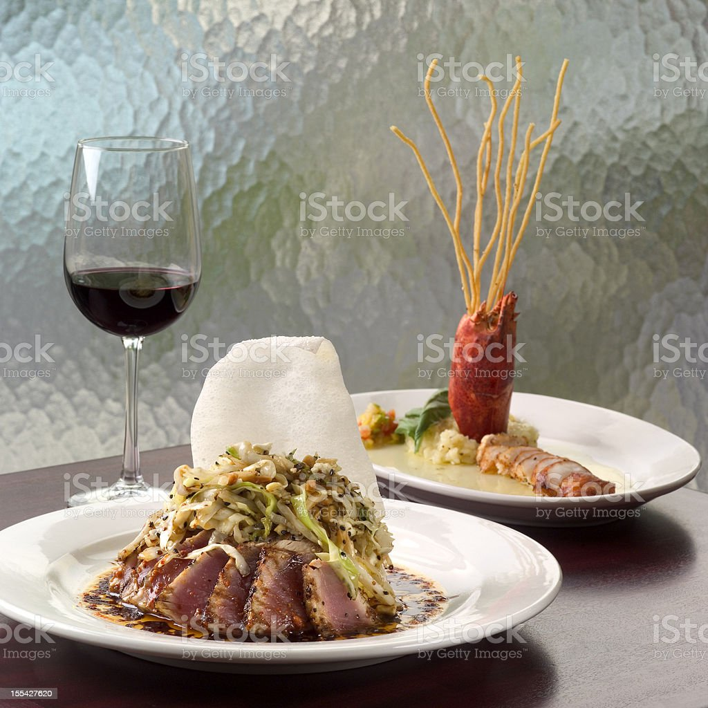 Asian Tuna stock photo