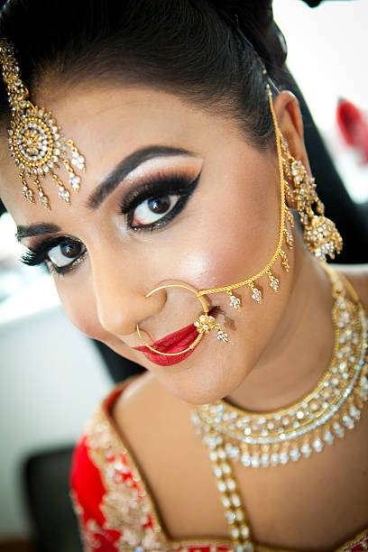 Asian wedding stock photo