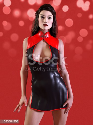 1137329370istockphoto Asian woman in Chinese women clothes 1023384356