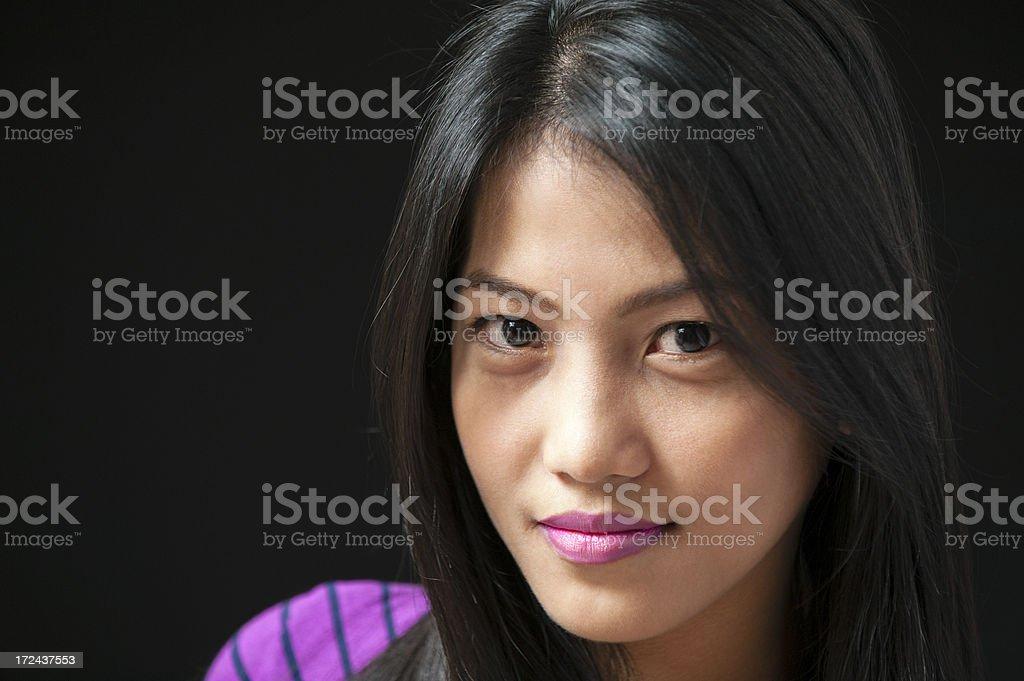 Asian Woman royalty-free stock photo