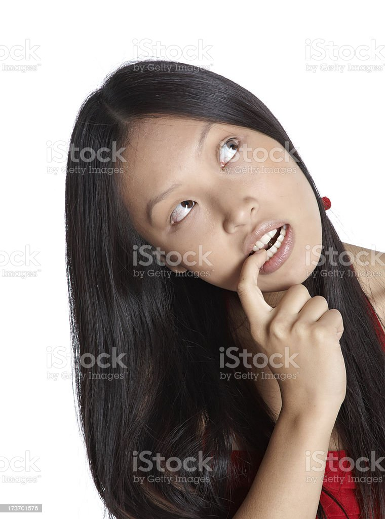 asian woman royalty-free stock photo