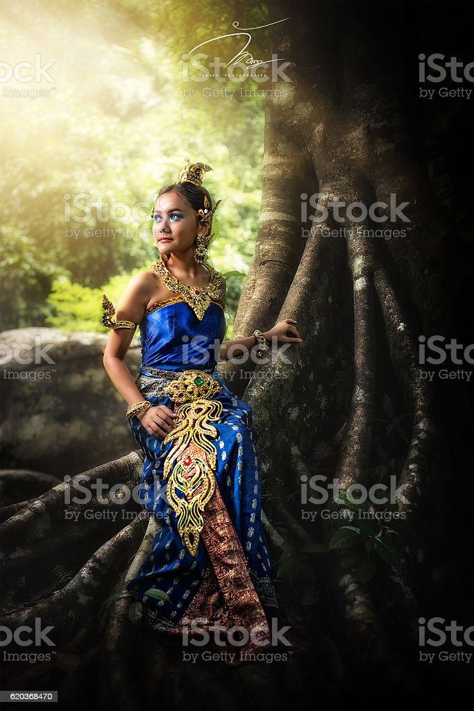 Mulher asiática foto de stock royalty-free