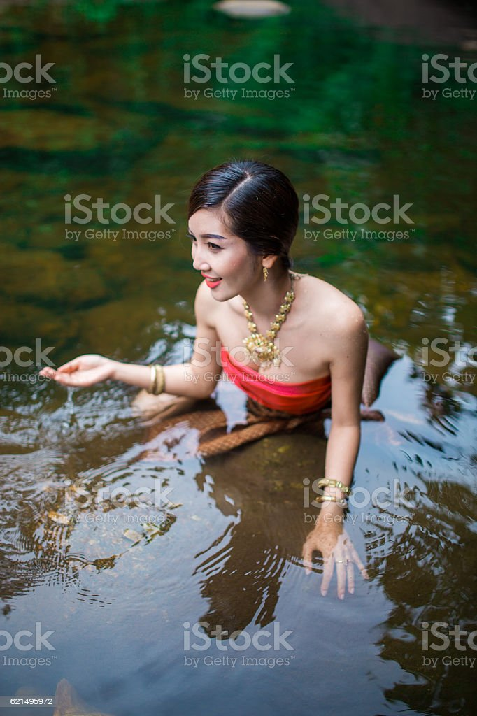 Asiatische Frau  Lizenzfreies stock-foto