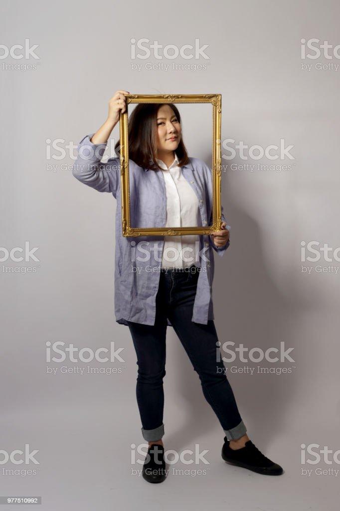 Asian Woman stock photo