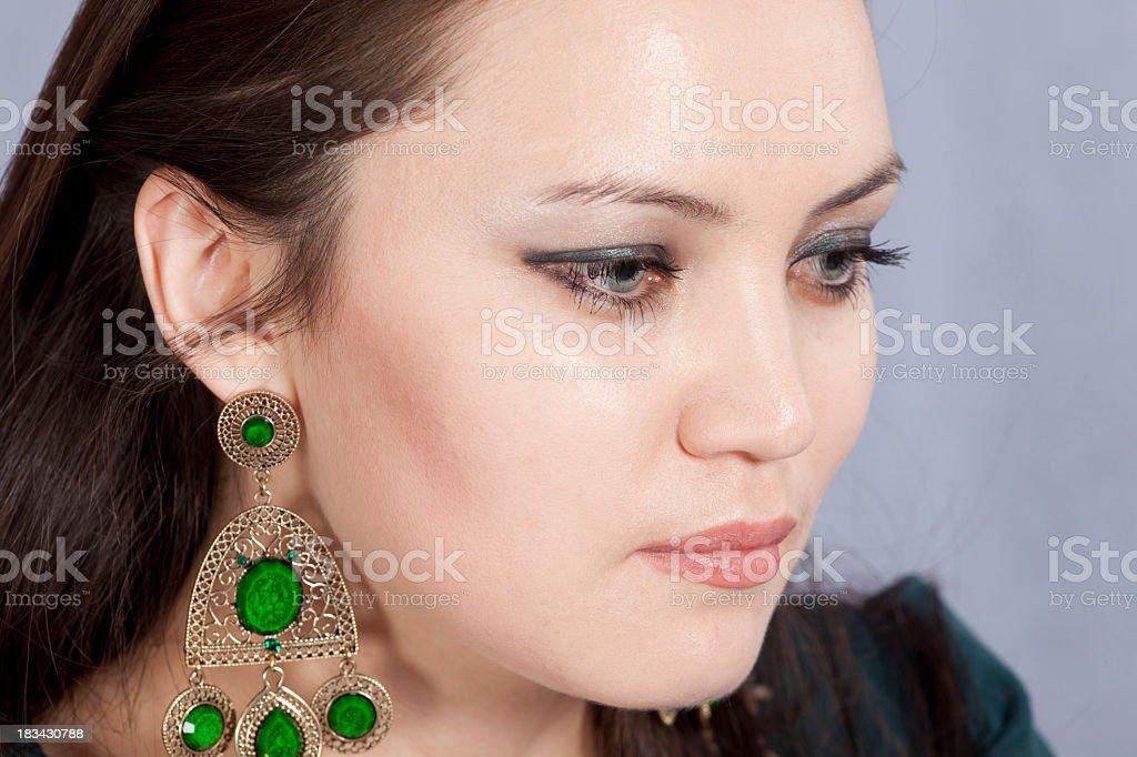 Asian Woman: portrait stock photo