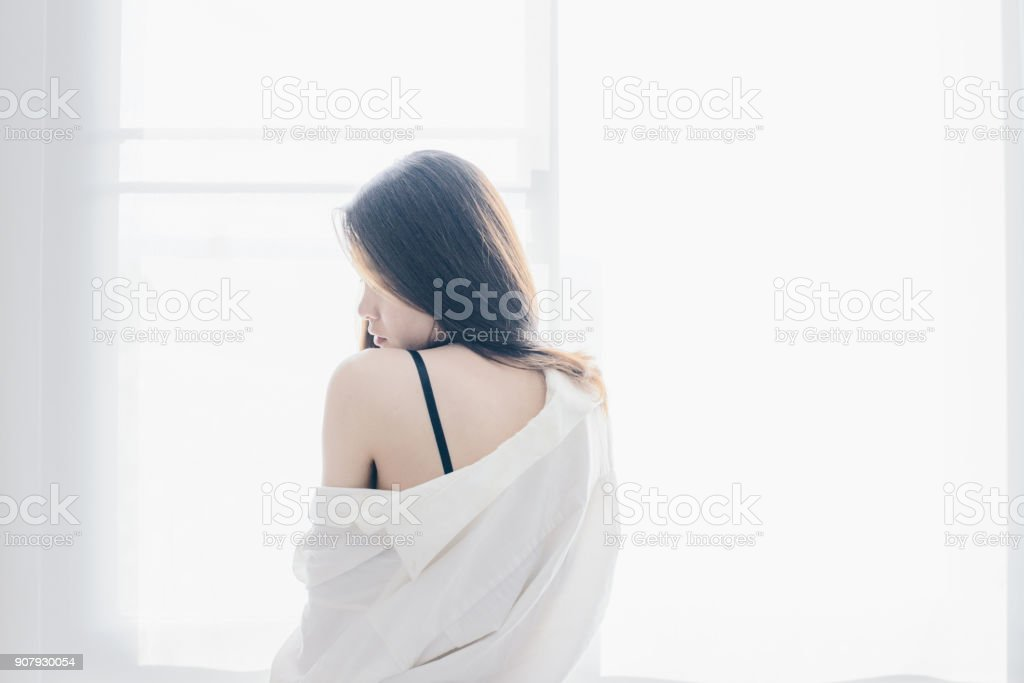 up-window-asian-woman