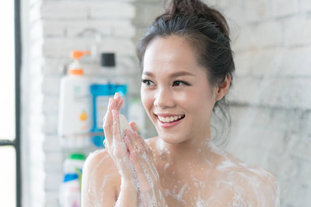 Amateur lesbian shower sex