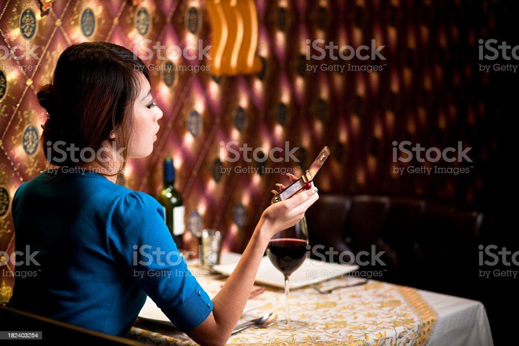 Asian women royalty-free stock photo