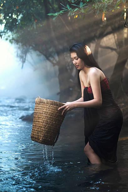 Naked Thai Women Stock Photos, Pictures & Royalty-Free