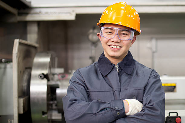Asiatische engineer – Foto