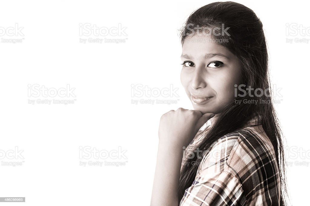 Asian Young Woman Portrait Stock Photo