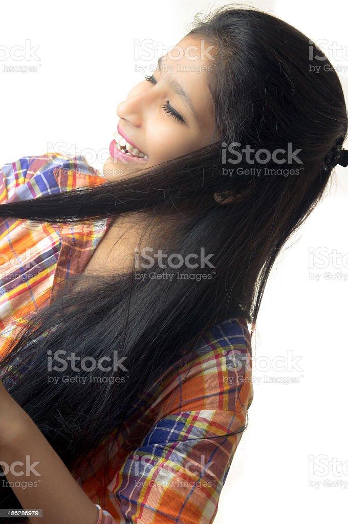 아시아판 젊은 여자 사진 스톡 사진