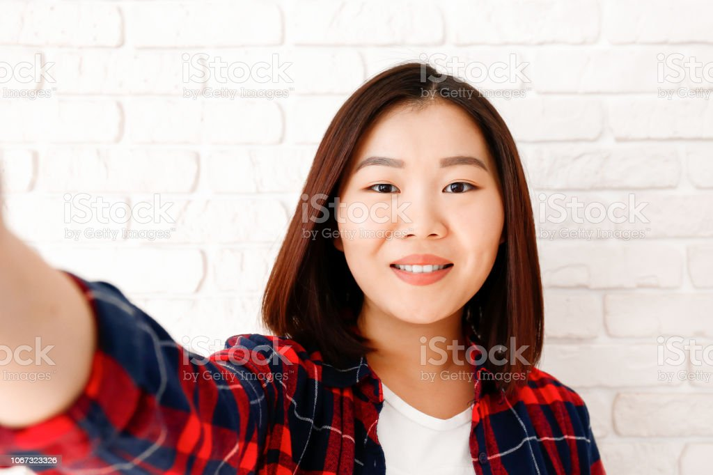 Asian Young Woman With Bob Hair Style Stock Photo Download Image Now Istock