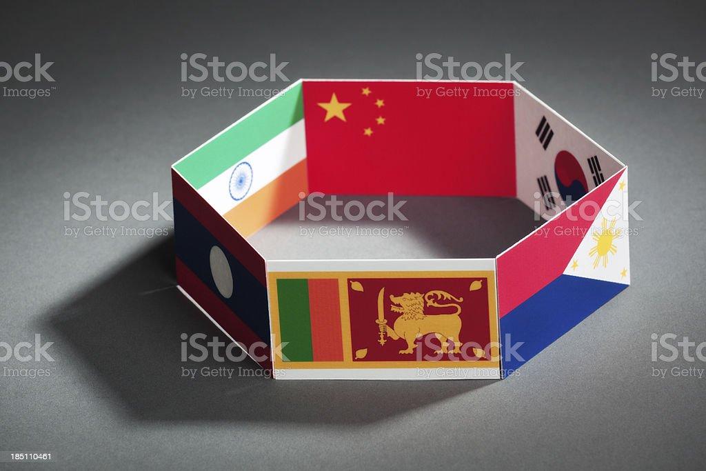 Asiapacific Trade Agreement Apta Group Summit Closeup Stock Photo