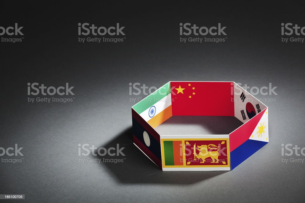 Asia-Pacific Trade Agreement APTA Group Summit Hz stock photo