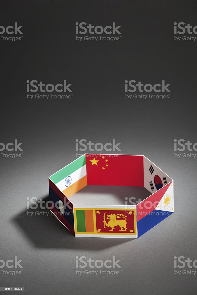 Asia-Pacific Trade Agreement APTA Group Summit Vt royalty-free stock photo