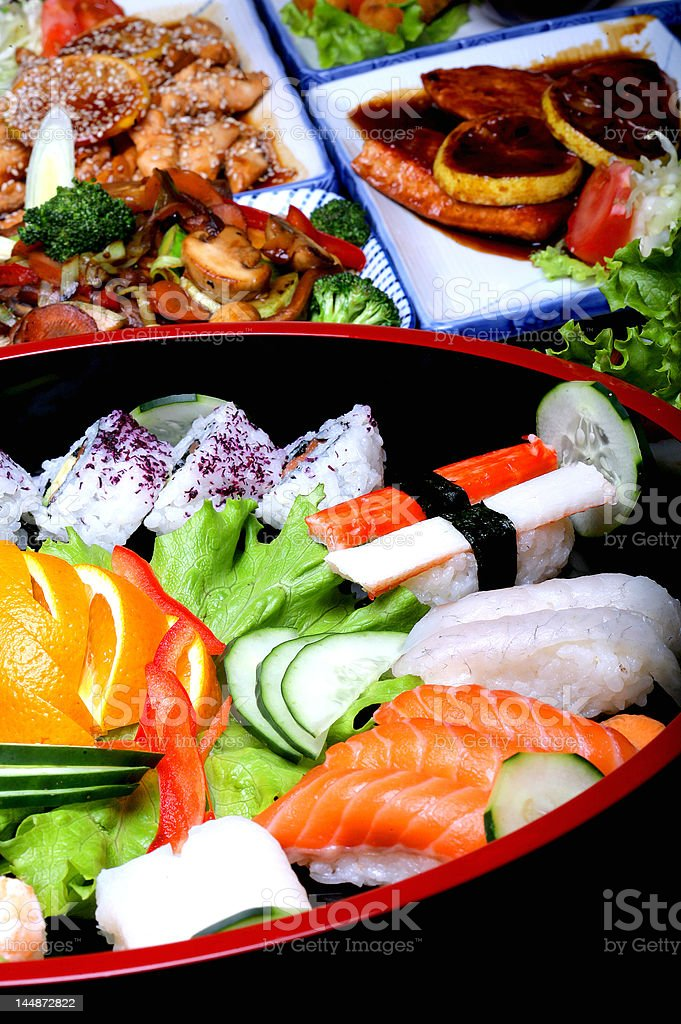 Asias meal royalty-free stock photo