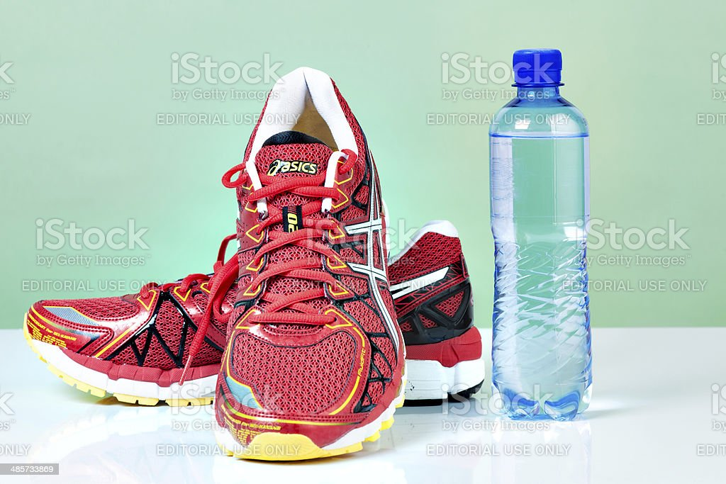 Asics Kayano Gel 20 Male Running Shoes royalty-free stock photo