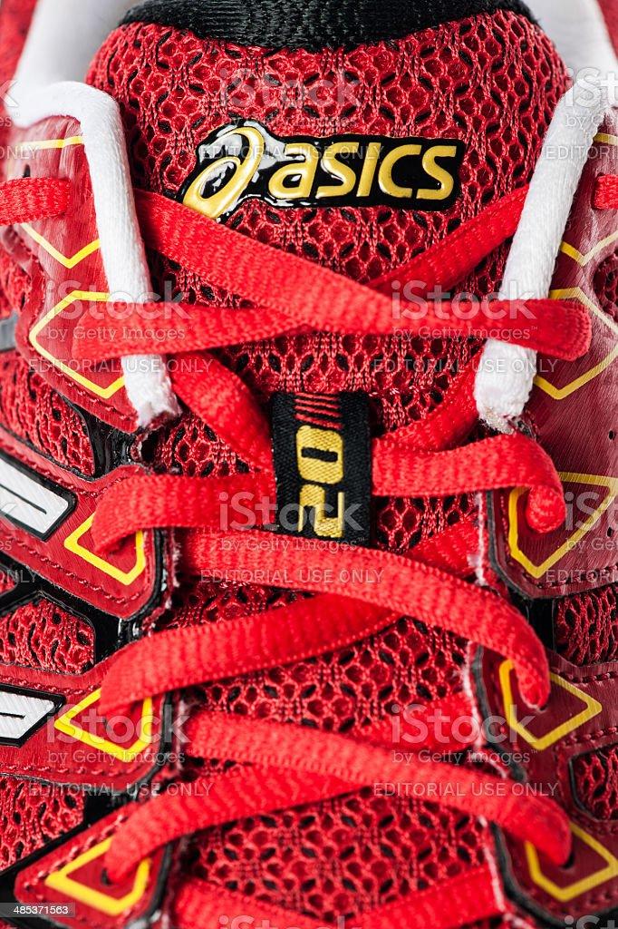 Asics Kayano Gel 20 Male Sport Shose royalty-free stock photo