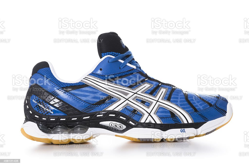 Asics Volley sport shoes stock photo