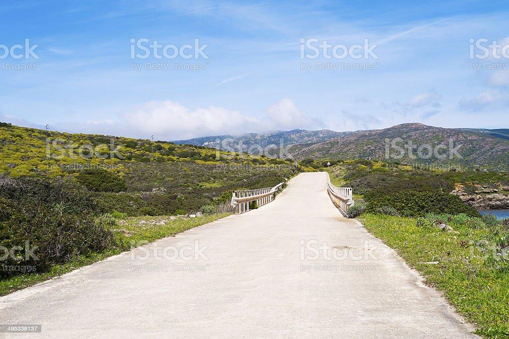 Asinara island in Sardinia, Italy stock photo