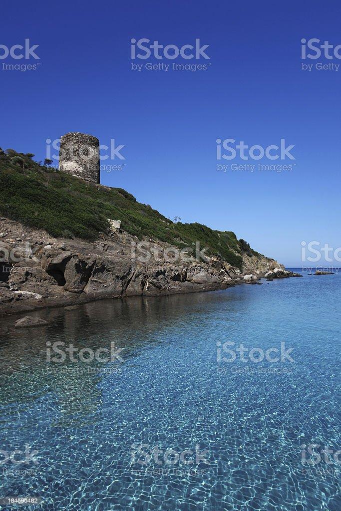 Asinara Island. Sardinia, Italy royalty-free stock photo