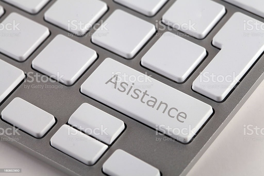 Asistance royalty-free stock photo
