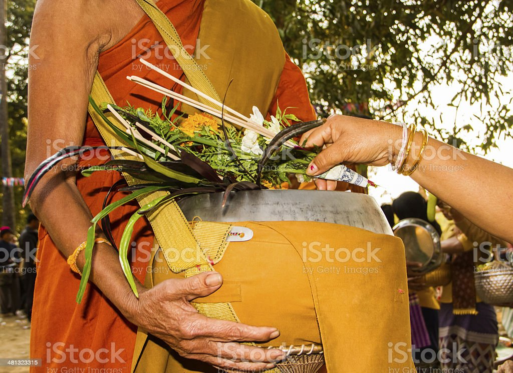 Ask for alms stock photo