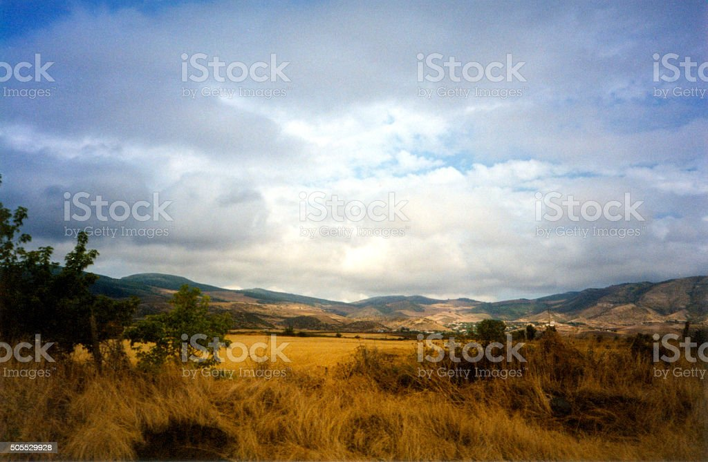 Askeram area, Nagorno-Karabakh stock photo