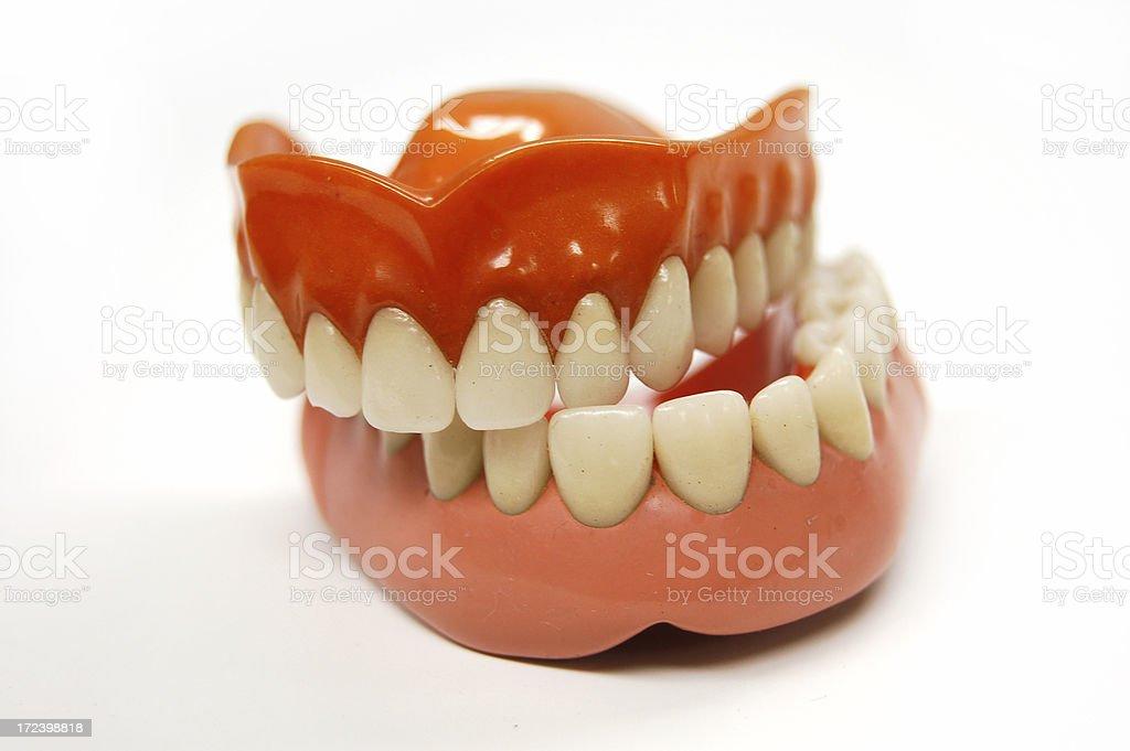 Askew Dentures royalty-free stock photo