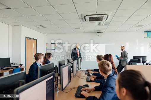 istock Asking a Question in Class 901972616