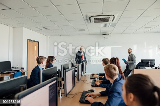 istock Asking a Question in Class 901973216