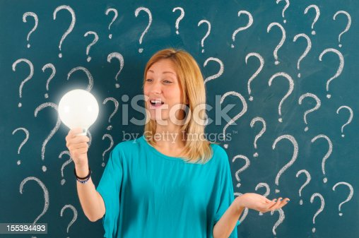 184960675 istock photo Asking and Solution Concept 155394493